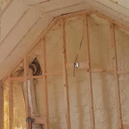 Attic Insulation Spray Foam