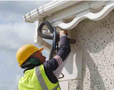 Cavity wall insulation envirofoam cork kerry limerick for Blown mineral wool cavity insulation